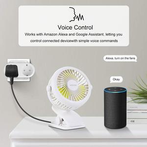 Image 5 - Alexa Tương Thích 2 Trong 1 WiFi Ổ Cắm 16A Tiêu Chuẩn EU Giám Sát Điện Năng Tuya Ứng Dụng Điều Khiển Từ Xa Thông Minh Ổ Cắm Làm Việc Với google Home