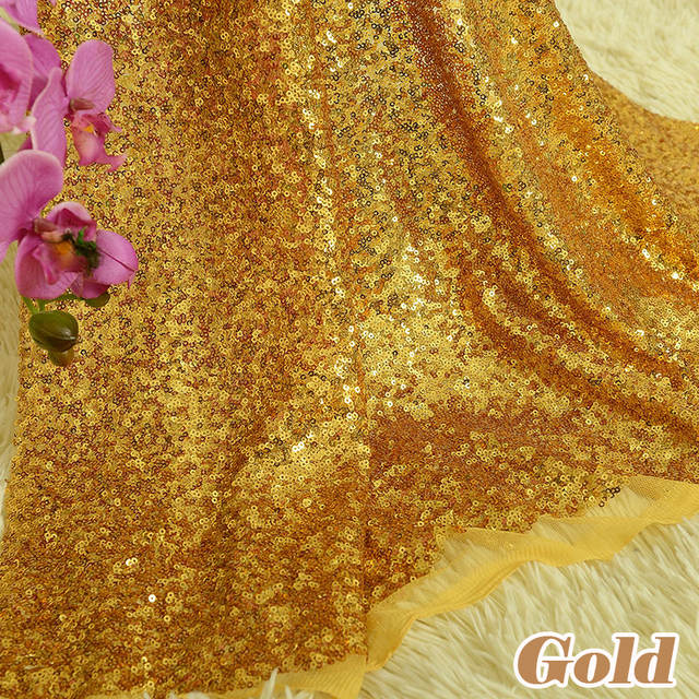 581aa5ab3f 1 Yard DIY 3mm Sparkly Embroidery lace Mesh Sequin Fabric For Backdrop  Photo Booth Clothes Events Christmas Decoration 15 Colors