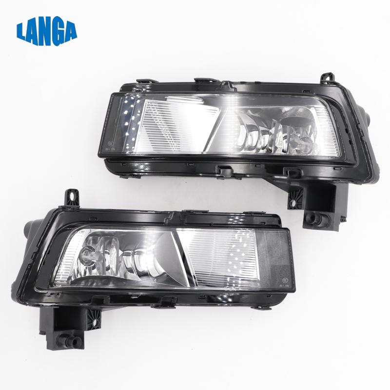 GENUINE VW TOURAN 2016 />/>/> LEFT HALOGEN FOG LIGHT 5TA941661 NEW