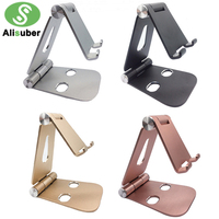 Alisuber Portable Tablet Stand Pliable En Aluminium Téléphone Stand Réglable De Charge Dock Desk Mount Stand Support Pour iPad iPhone