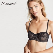 Missomo Lace Backless Bras For Women Sexy VS BH Bralet Modis Push Up Bralette Plus Size Hot Cup Underwear Brassiere Lingerie цены