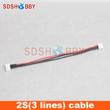 2S 15cm LiPo Battery Extension Line Wire Connector with Balance Charger Plug 22AWG Line 1pcs