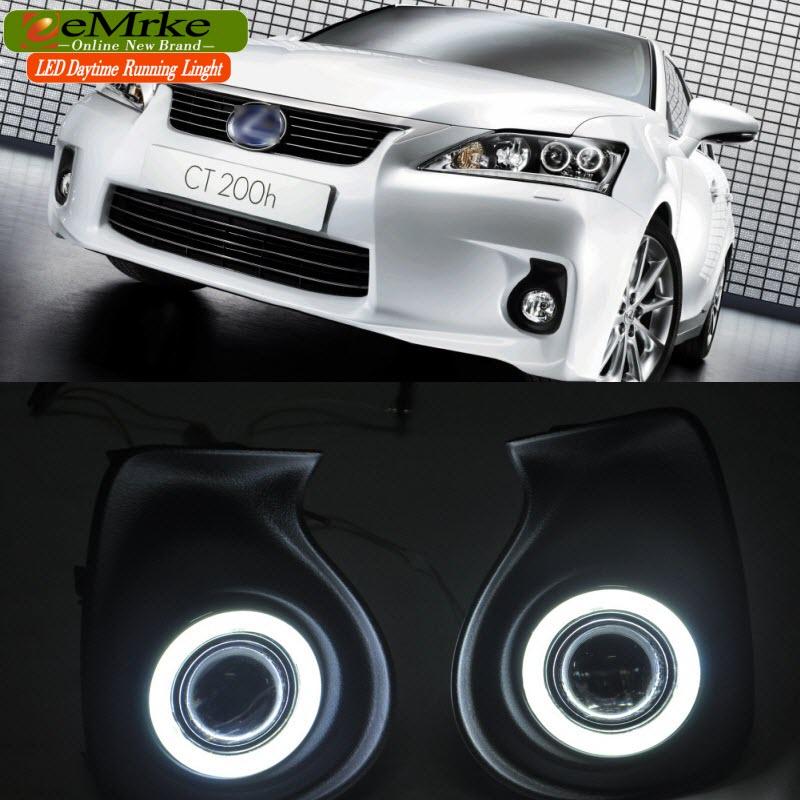 Buy EEMRKE Car-Styling FOR Chevrolet Cruze J300 Holden LED Angel Eyes DRL Daytime Running Lights
