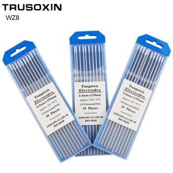 10pcs White Head WZ8 Tungsten Electrode 1.0 /1.6/2.0/2.4/3.0/3.2/4.0X175mm TIG Needle/Tungsten Electrode/TIG Rod