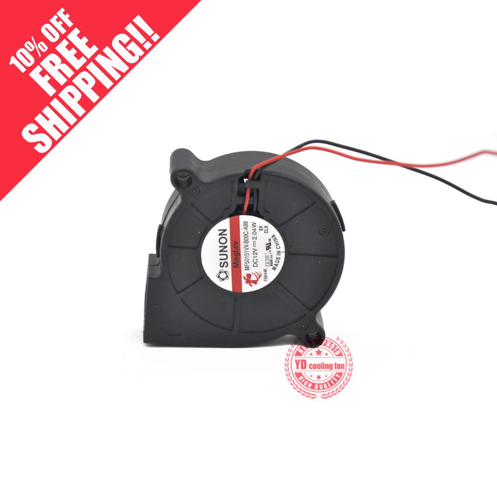 NEW SUNON MF50151VX-B00C-A99 5015 12V Blower Cooling Fan