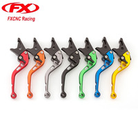 CNC Aluminum Adjustable Motorcycle Brake Clutch Levers Motorcycle Clutch Handle With Logo R6 For Yamaha YZF R6 2017 2018