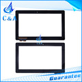 replacement display screen glass with flex cable for Asus Pad T100 T100TA touch panel digitizer 1 pcs free shipping