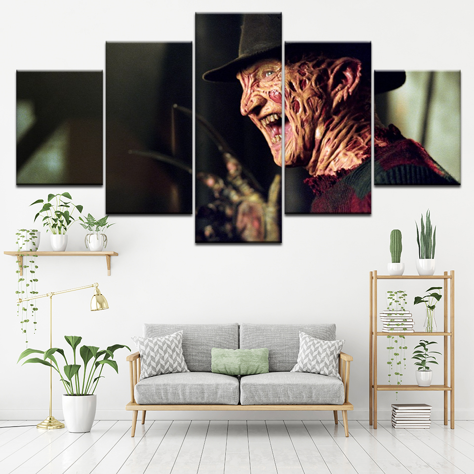 Canvas Painting The Film From The Badly Explained 5 Pieces Wall Art Painting Modular Wallpapers Poster Print Home Decor in Painting Calligraphy from Home Garden