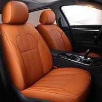 Пользовательские коровьей кожаный чехол автокресла для Mercedes Benz A B C класса CLA CLK CLS ML GLA GLK GLE S E G Аксессуары Тюнинг автомобилей