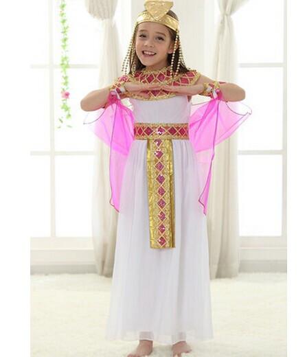 vestido egipcio egipcio traje ropa de disfraces infantiles de navidad para las nias trajes de princesa