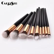 Professional Makeup Tools 1PC Wooden Cosmetics Eyebrows Eyeshadow Brush Set Tool Pincel Maquiagem