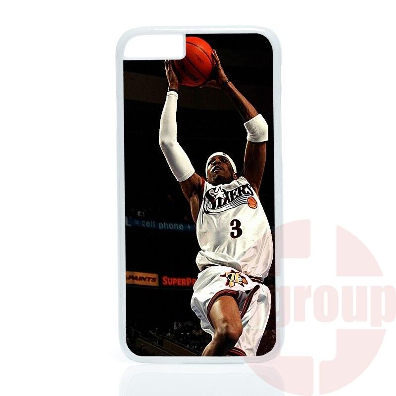 case Accessories basketball supper star allen iverson For Nokia Lumia 540 550 630 640 830 950 X2 XL For Xiaomi Max Redmi Note 4