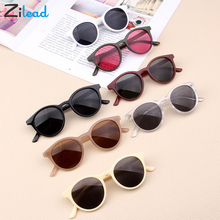 Zilead Korean Girl Hot Fashion Boys Baby Child Sunglasses Classic Retro Cute Round Frame Smart Kids Sun Glasses UV400 Protection