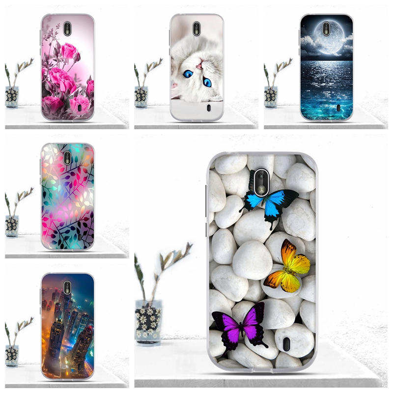Funda For <font><b>Nokia</b></font> 1 Case Cover Soft TPU Silicon Coque Bumper For <font><b>Nokia</b></font> 1 TA-<font><b>1047</b></font> TA-1060 TA-1056 Case Cover For <font><b>Nokia</b></font> 1 Cover Bags image