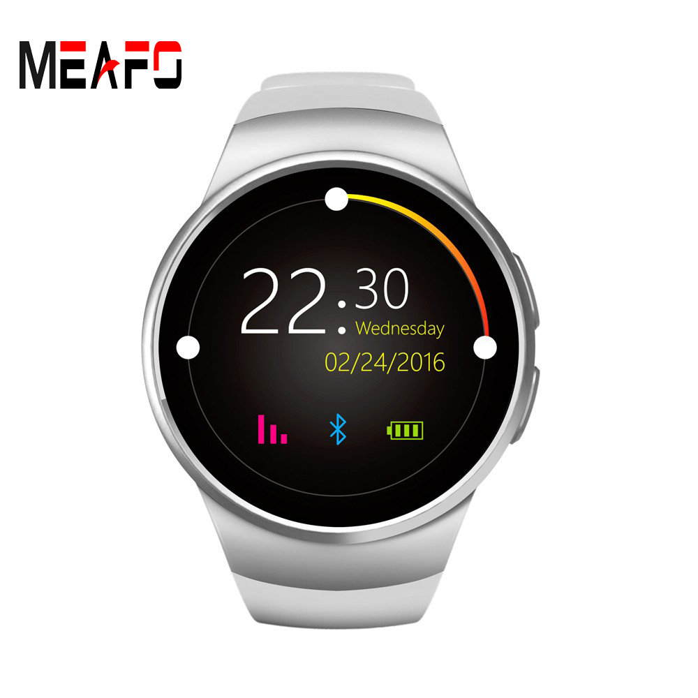 цена на Bluetooth Smart Watch Phone KW18 Sim And TF Card Heart Rate Reloj Smartwatch Wearable Compatible For IOS Apple iPhone 5s/6/6s/SE