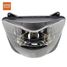For 99-00 Honda CBR600 CBR 600 F4 Motorcycle Front Headlight Head Light Lamp Headlamp 1999 2000