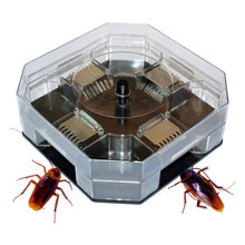 Household Effective Cockroach Traps Box Reusable Cockroach Bug Roach Catcher Cockroach Killer Bait Traps Pesticide for Kitchen