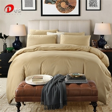 Brown Satin Bedding Set Luxury Egyptian Cotton Bed Set King Queen Size High Quality Bed Linen 4pcs Noble Duvet Cover Set Z55