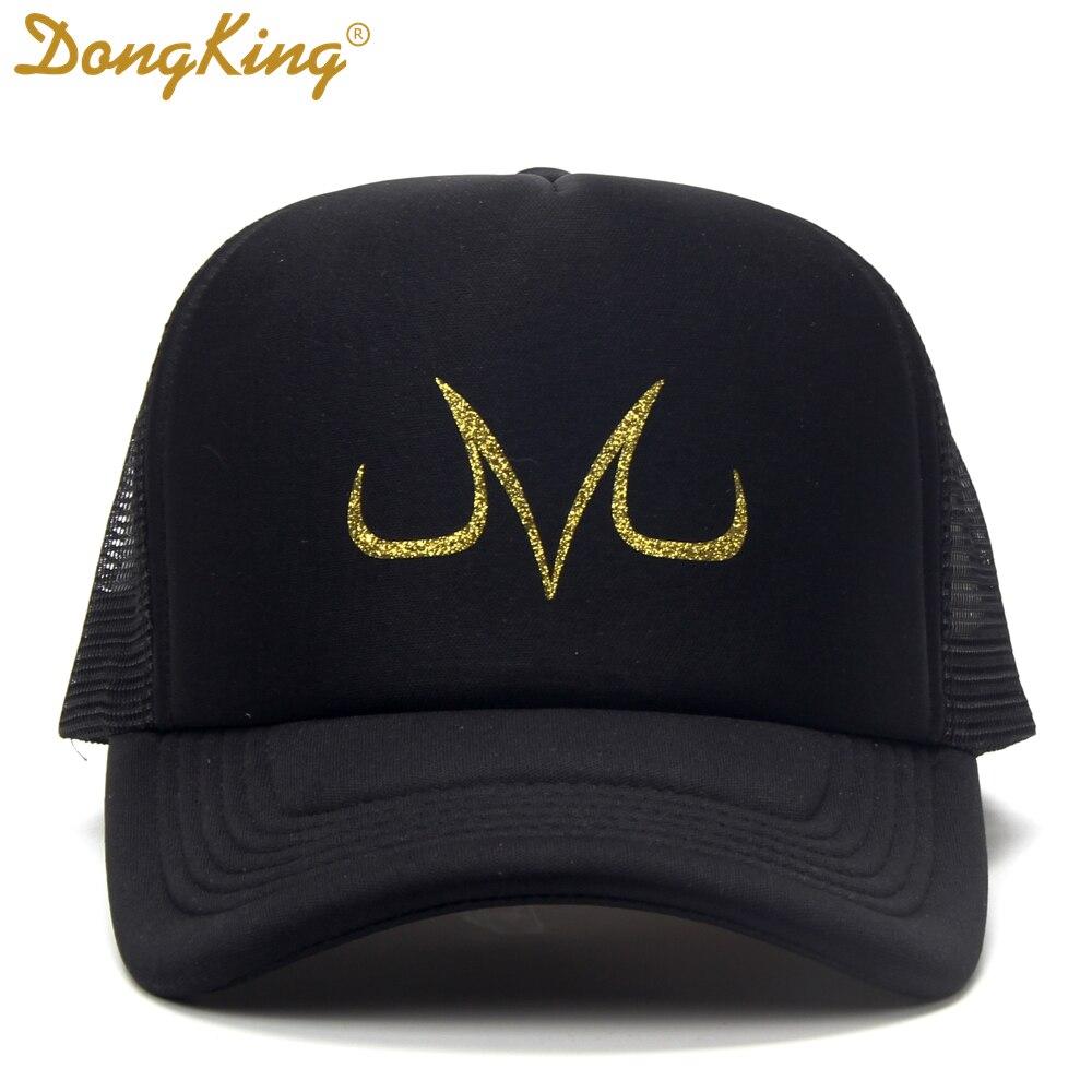 Malla de verano gorras sombreros de camionero caliente de alta calidad  sombrero de béisbol de la muchacha del niño Snapbacks oro del Dragón Z  imprimir 601d33ee3cd