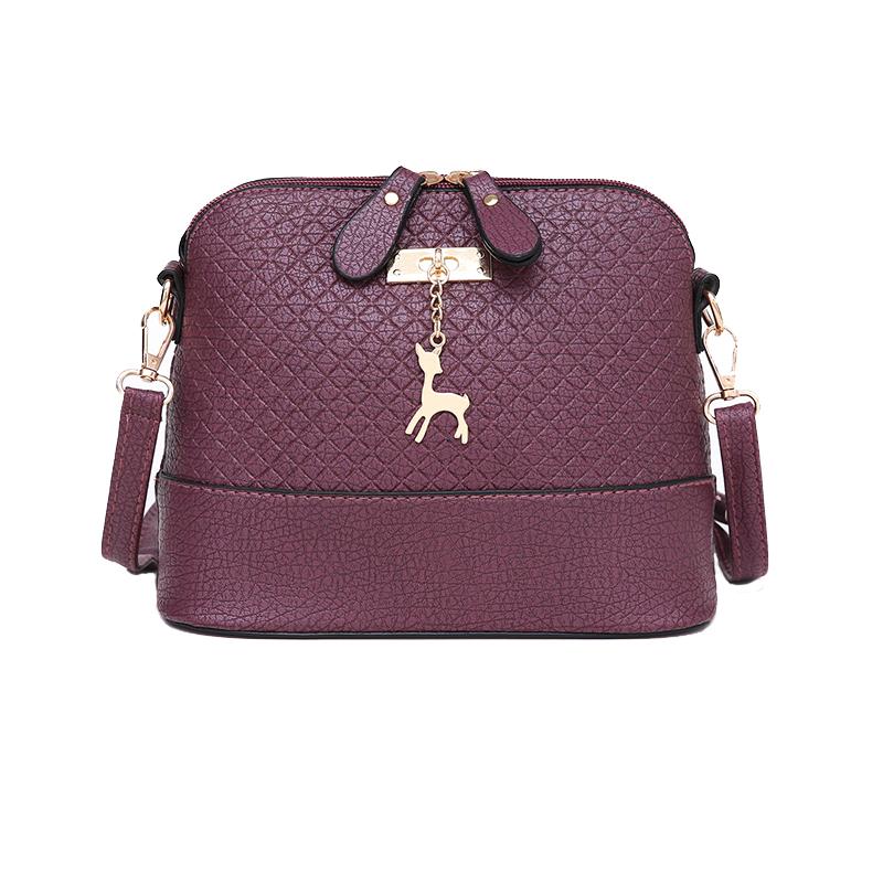 лидер продаж! 2017 для женщин курьерские сумки модные мини-сумка с оленями игрушка в виде ракушки форма сумка для женщин сумки на плечо сумочка