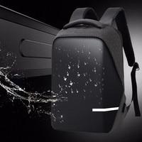 Backpacks Men Premium Anti theft Laptop School Travel Waterproof Backpack with USB Port