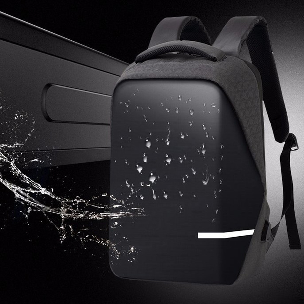 Backpacks Men Premium Anti-theft Laptop School Travel Waterproof Backpack With USB Port