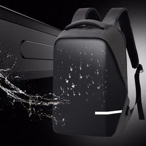 Image 1 - กระเป๋าเป้สะพายหลังผู้ชาย PREMIUM Anti Theft โรงเรียนแล็ปท็อปกระเป๋าเป้สะพายหลังกันน้ำ USB Port