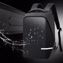Sacs à dos hommes Premium Anti vol ordinateur portable école voyage sac à dos étanche avec Port USB
