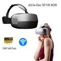 Deepoon M2 3D VR ОКНО Виртуальной Реальности 360 Градусов Захватывающий игры Кино Очки Google Картон Частный Театр PMMA Объектив BT случае