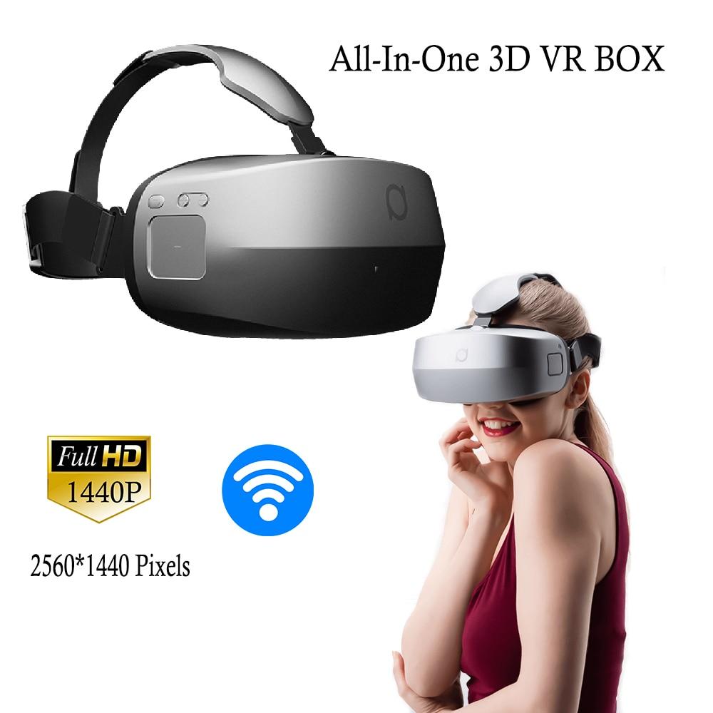 Deepoon M2 3D VR BOX Virtual Reality 360 Degree Immersive Game Moive Glasses Google Cardboard Private Theater PMMA Lens BT Case vr pro box 3d immersive vr virtual