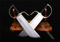 Пара складное стальное лезвие Медной Ручкой мечи называется Бабочка Мечи ()