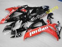 Vendas quentes, Para 2006 2007 SUZUKI K6 GSXR 600 GSXR 750 Jordan 06 07 GSX-R600 GSX-R750 carroçaria carenagem personalizado (moldagem por injeção)