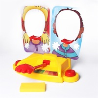 Funny Double Person Toy Cake Cream Pie In The Face Anti Stress Toy For Kids Party