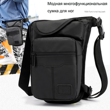 Leg Bag High Quality Nylon Men Drop Fanny Pack Motorcycle Riding Casual Shoulder Cross Body Thigh Male Hip Belt Waist Bags thigh multifunctionl men camouflage nylon waist bag belt bag portable men s waist bag men thigh leg drop travel riding fashion bags