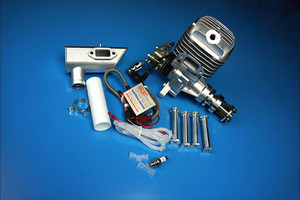 Image 3 - DLE Original New DLE55 55cc DLE Single Cylinder 2 Strokes Gasoline / Petrol Engine for RC Airplane