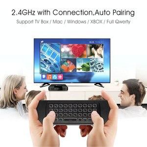 Image 3 - MX3 télécommande vocale intelligente 2.4G, gyroscope et infrarouge à rétroéclairage, pour Box TV Android T9 X96 mini H96 max