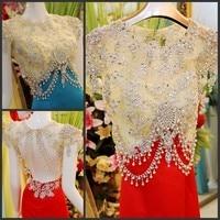 2014 New Design Real Picture Sheath Floor Length Taffeta Crystal Beaded Sexy Kaftan Evening Dresses Gowns