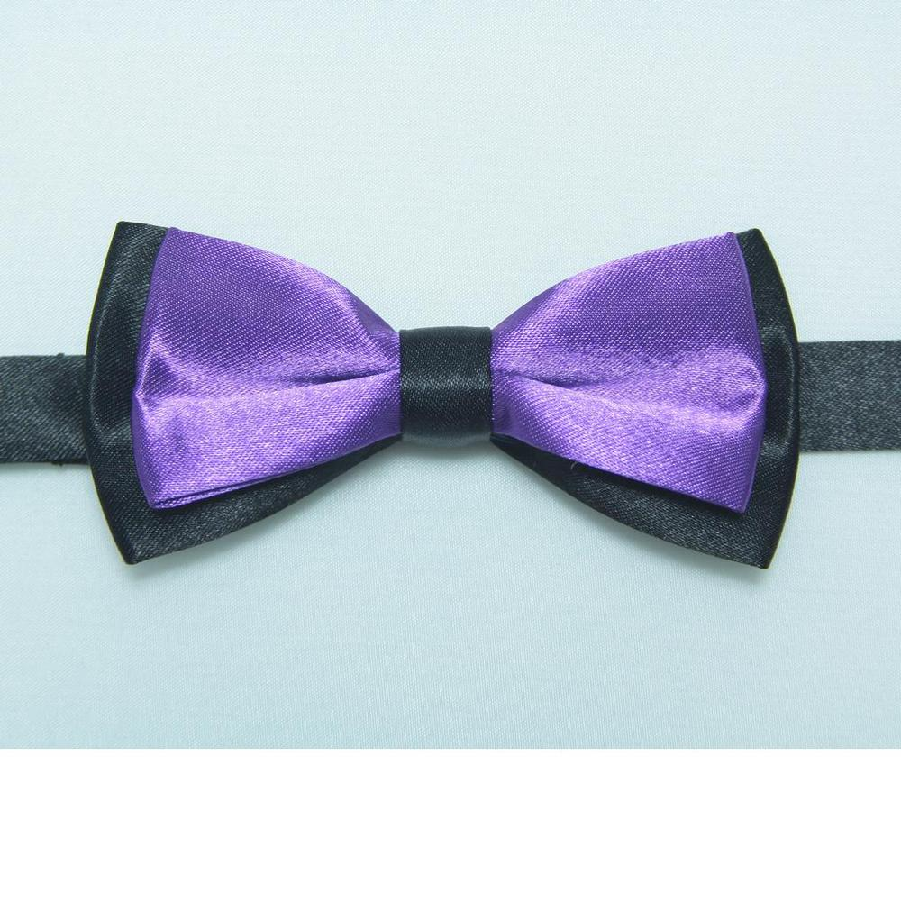 HOOYI 2018 boys polyester bows kids bowtie neck ties baby tie butterfly