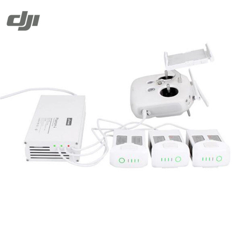 DJI Phantom 4 RC Quadcopter FPV-системы 4 в 1 Дистанционное управление передатчик multi интеллектуальные Батарея параллельно Зарядное устройство зарядки