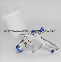 W 101 Spray Gun w101 134G Air Spray Gun HVLP Paint Sprayer,1.0/1.3/1.5/1.8mm Japan quality, plastic 400cc cup
