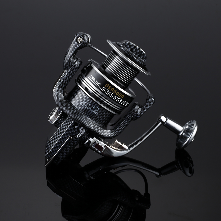 2018 LIEYUWANG 12+1 BB Super Strong Trolling Fishing Reels Left and Right Exchange Sea Fishing reel Molinete Spinning Fishing