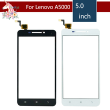 10pcs/lot 5.0 For Lenovo A5000 LCD Touch Screen Digitizer Sensor Outer Glass Lens Panel Replacement 10pcs lot 4 0 for sony xperia m c1904 c1905 c2004 c2005 lcd touch screen digitizer sensor outer glass lens panel replacement