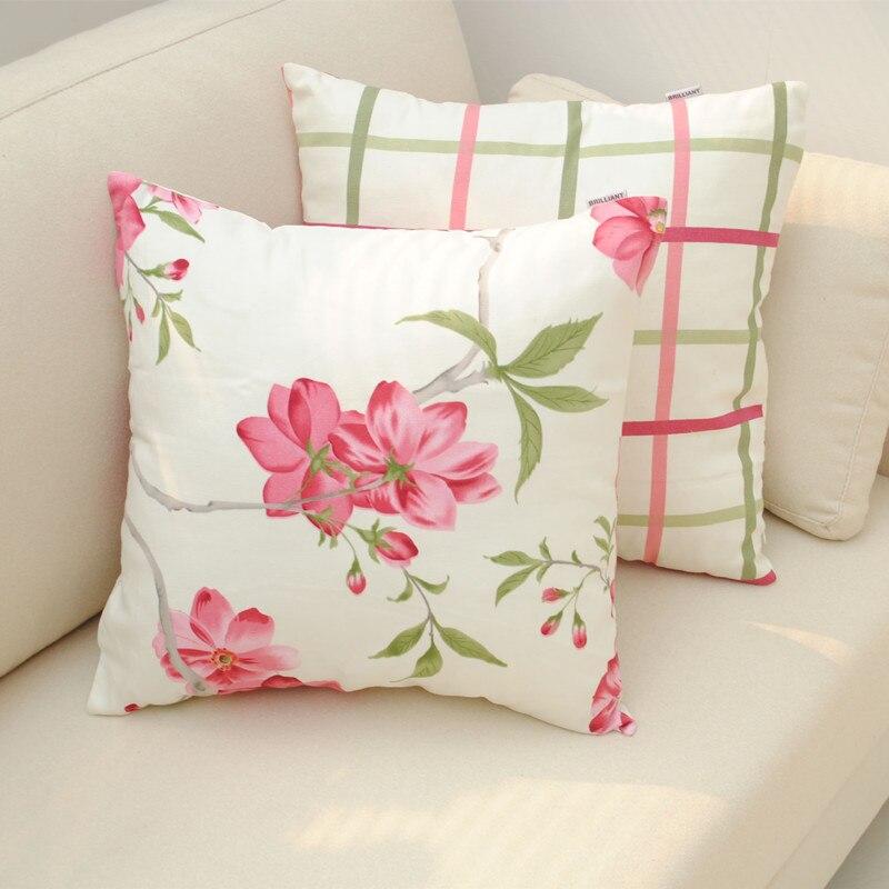 ⑤Serie Sophia algodón volver Fundas de colchón cuadrado Almohadas ...