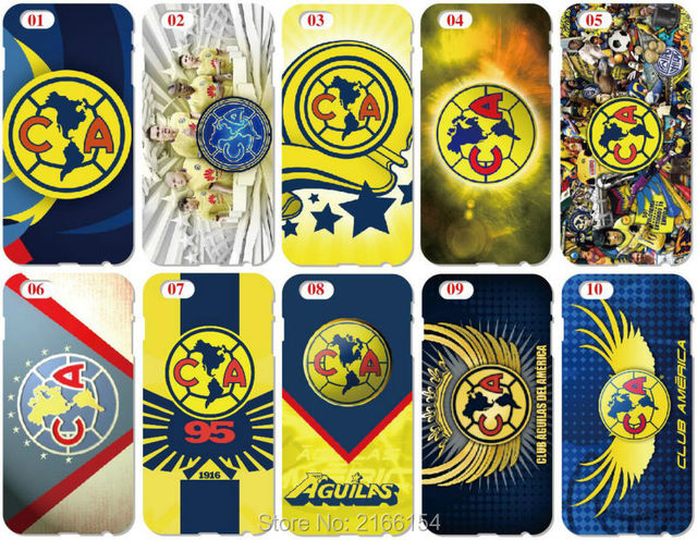 Club America Logo Phone Cover For Iphone 5 5s Se 5c 6 6s 7 Plus For