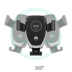 Image 5 - Soporte de teléfono para coche soporte de montaje en salida de aire de coche soporte de teléfono móvil No magnético soporte de teléfono móvil de gravedad Universal soporte de teléfono inteligente
