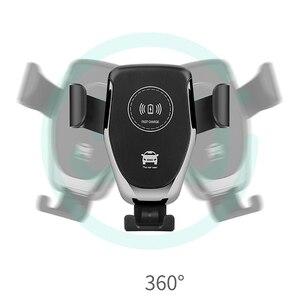 Image 5 - Suporte do telefone do carro suporte de montagem de ventilação de ar do carro nenhum suporte magnético do telefone móvel universal gravidade smartphone celular suporte
