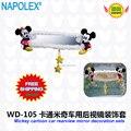 Accesorios del coche de dibujos animados de mickey mouse de coches retrovisor espejo cubierta WD-105 envío gratis