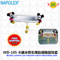 car accessories cartoon  mickey mouse car rearview mirror shroud WD-105 free shipping