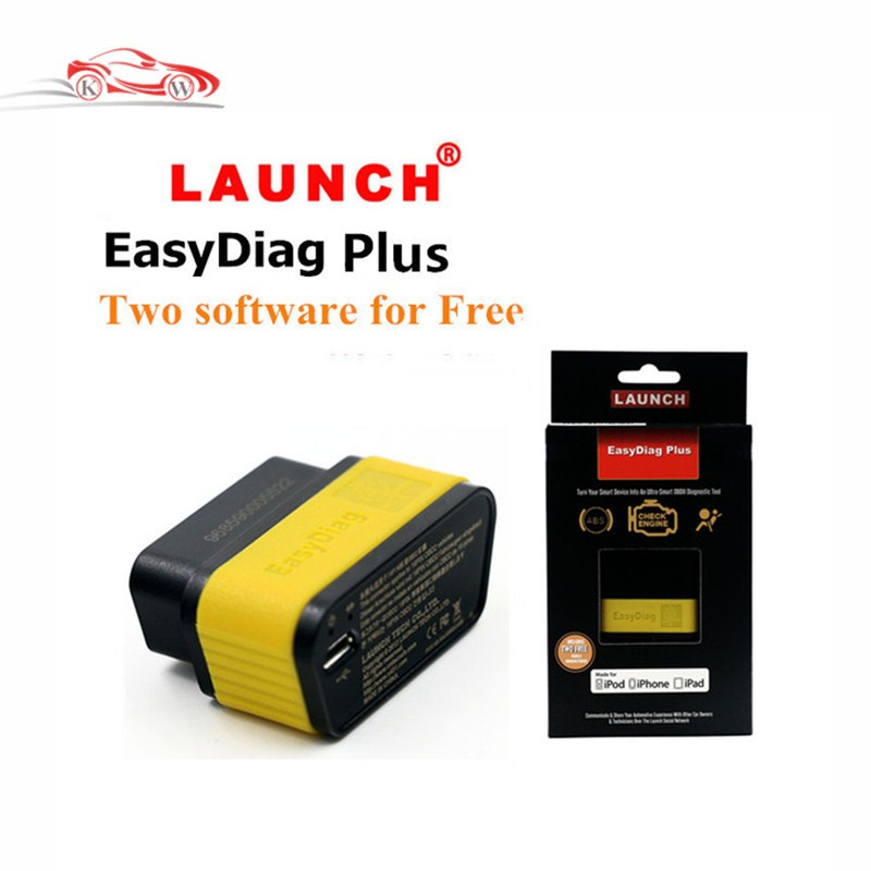 Launch X431 EasyDiag Plus same as EasyDiag Code Scanner for Android or ISO +2 Car Software Launch Easy Diag Tool