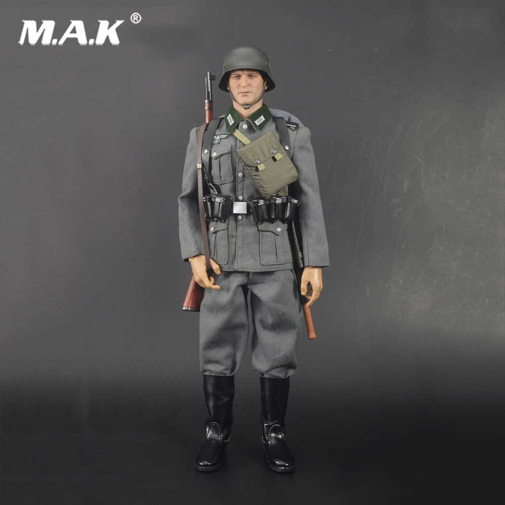 1:6 Scale Clothes Suit WWII German WH Wehrmacht Infantry Private Set Plan White Poland 1939 68015 Action Figure For Collection world war ii german wwii wehrmacht officer 1 6 soldier set model stanford erich vo gm637 for gift collection
